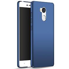 Etui Plastique Rigide Mat M01 pour Xiaomi Redmi 4 Prime High Edition Bleu