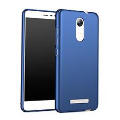 Etui Plastique Rigide Mat M01 pour Xiaomi Redmi Note 3 MediaTek Bleu