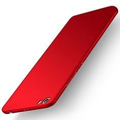 Etui Plastique Rigide Mat M01 pour Xiaomi Redmi Note 5A Standard Edition Rouge