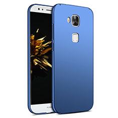 Etui Plastique Rigide Mat M02 pour Huawei G8 Bleu