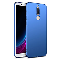 Etui Plastique Rigide Mat M02 pour Huawei Mate 10 Lite Bleu