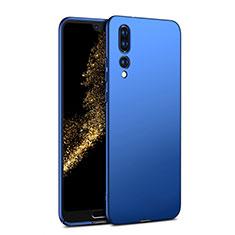 Etui Plastique Rigide Mat M02 pour Huawei P20 Pro Bleu