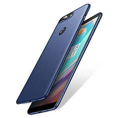 Etui Plastique Rigide Mat M02 pour OnePlus 5T A5010 Bleu