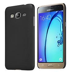 Etui Plastique Rigide Mat M02 pour Samsung Galaxy J3 (2016) J320F J3109 Noir