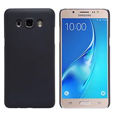 Etui Plastique Rigide Mat M02 pour Samsung Galaxy J5 Duos (2016) Noir