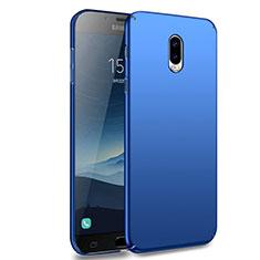 Etui Plastique Rigide Mat M02 pour Samsung Galaxy J7 Plus Bleu