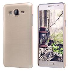 Etui Plastique Rigide Mat M02 pour Samsung Galaxy On5 G550FY Or
