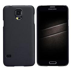 Etui Plastique Rigide Mat M02 pour Samsung Galaxy S5 G900F G903F Noir