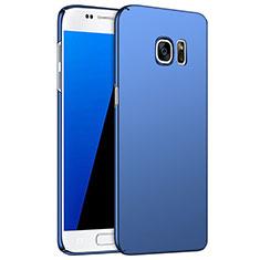 Etui Plastique Rigide Mat M02 pour Samsung Galaxy S7 G930F G930FD Bleu