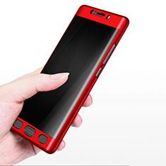 Etui Plastique Rigide Mat M02 pour Xiaomi Mi Note 2 Special Edition Rouge