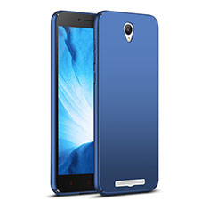 Etui Plastique Rigide Mat M02 pour Xiaomi Redmi Note 2 Bleu