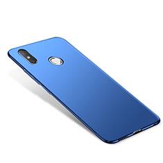 Etui Plastique Rigide Mat M02 pour Xiaomi Redmi Note 5 Pro Bleu