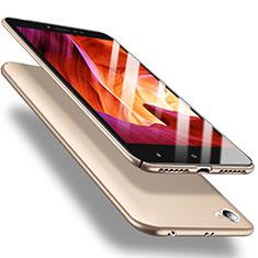 Etui Plastique Rigide Mat M02 pour Xiaomi Redmi Note 5A Standard Edition Or