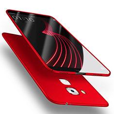 Etui Plastique Rigide Mat M03 pour Huawei G9 Plus Rouge