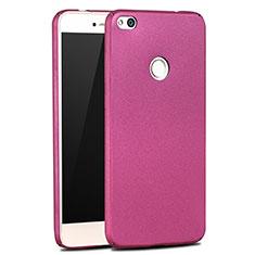 Etui Plastique Rigide Mat M03 pour Huawei Honor 8 Lite Violet