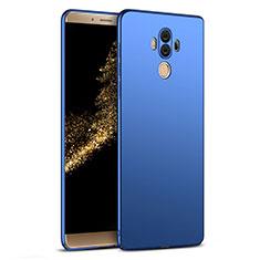 Etui Plastique Rigide Mat M03 pour Huawei Mate 10 Pro Bleu