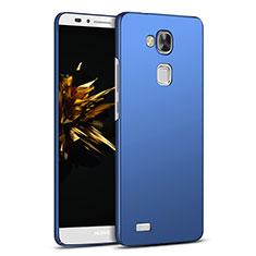 Etui Plastique Rigide Mat M03 pour Huawei Mate 7 Bleu