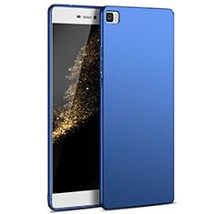 Etui Plastique Rigide Mat M03 pour Huawei P8 Lite Bleu