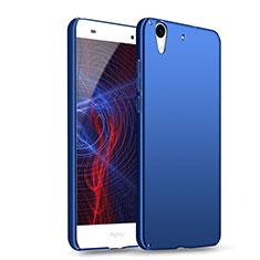 Etui Plastique Rigide Mat M04 pour Huawei Honor 5A Bleu