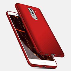 Etui Plastique Rigide Mat M04 pour Huawei Honor 6X Pro Rouge