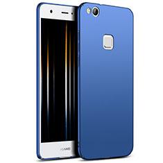 Etui Plastique Rigide Mat M04 pour Huawei P8 Lite (2017) Bleu