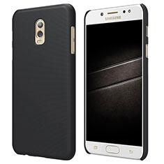 Etui Plastique Rigide Mat M04 pour Samsung Galaxy C8 C710F Noir