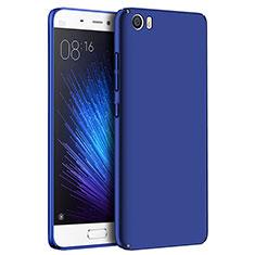 Etui Plastique Rigide Mat M04 pour Xiaomi Mi 5 Bleu