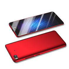 Etui Plastique Rigide Mat M04 pour Xiaomi Mi 5S 4G Rouge