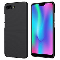 Etui Plastique Rigide Mat M05 pour Huawei Honor 10 Noir