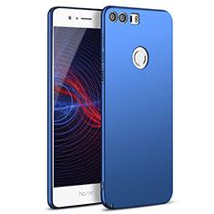 Etui Plastique Rigide Mat M05 pour Huawei Honor 8 Bleu