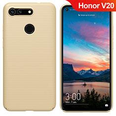 Etui Plastique Rigide Mat M05 pour Huawei Honor View 20 Or
