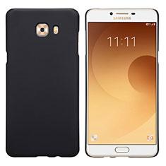 Etui Plastique Rigide Mat M05 pour Samsung Galaxy C9 Pro C9000 Noir