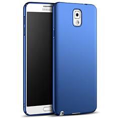 Etui Plastique Rigide Mat M05 pour Samsung Galaxy Note 3 N9000 Bleu