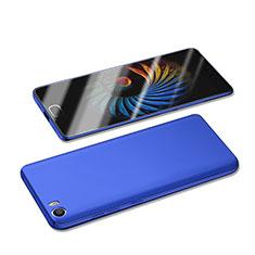 Etui Plastique Rigide Mat M05 pour Xiaomi Mi 5 Bleu