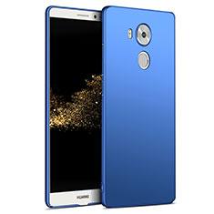 Etui Plastique Rigide Mat M06 pour Huawei Mate 8 Bleu