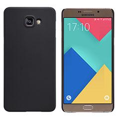 Etui Plastique Rigide Mat M06 pour Samsung Galaxy A9 Pro (2016) SM-A9100 Noir