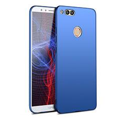 Etui Plastique Rigide Mat M09 pour Huawei Honor 7X Bleu