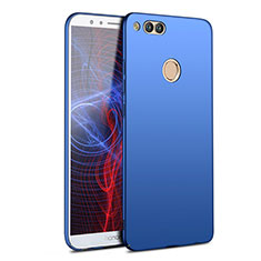 Etui Plastique Rigide Mat M09 pour Huawei Honor Play 7X Bleu