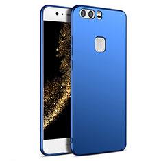 Etui Plastique Rigide Mat M09 pour Huawei P9 Bleu