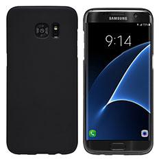 Etui Plastique Rigide Mat M10 pour Samsung Galaxy S7 Edge G935F Noir