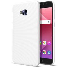 Etui Plastique Rigide Mat pour Asus Zenfone 4 Selfie Pro Blanc