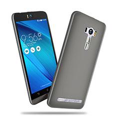 Etui Plastique Rigide Mat pour Asus Zenfone Selfie ZD551KL Gris