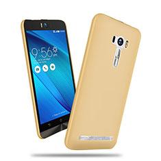 Etui Plastique Rigide Mat pour Asus Zenfone Selfie ZD551KL Or
