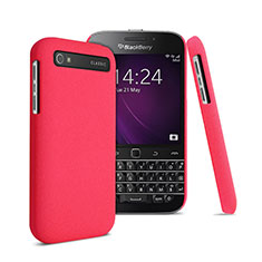 Etui Plastique Rigide Mat pour Blackberry Classic Q20 Rouge