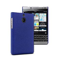 Etui Plastique Rigide Mat pour Blackberry Passport Silver Edition Bleu