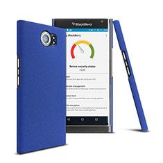 Etui Plastique Rigide Mat pour Blackberry Priv Bleu