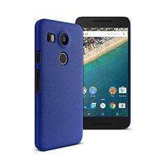 Etui Plastique Rigide Mat pour Google Nexus 5X Bleu