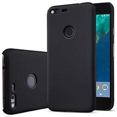 Etui Plastique Rigide Mat pour Google Pixel XL Noir