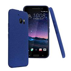 Etui Plastique Rigide Mat pour HTC 10 One M10 Bleu
