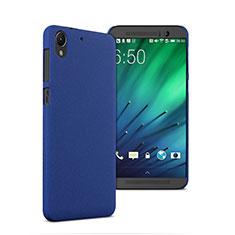 Etui Plastique Rigide Mat pour HTC Desire 728 728g Bleu